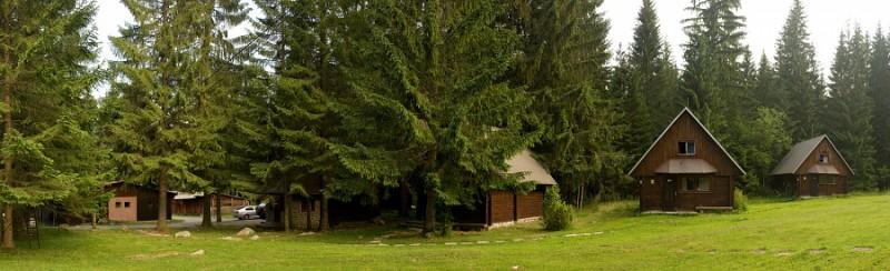 Chatová osada Krajinka
