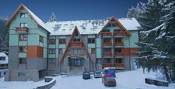 apartmánový dom FATRA v Skiparku