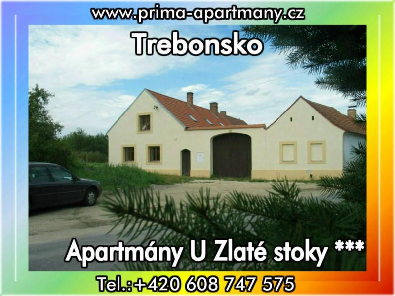 Apartmány U Zlaté stoky *** ( CHKO Třeboňsko )