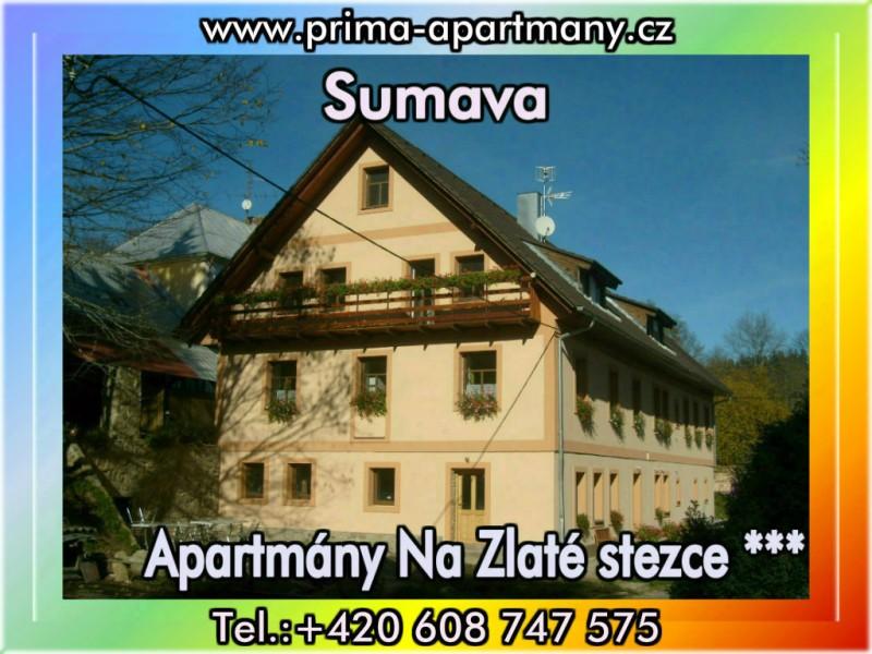 Apartmány Na Zlaté stezce *** (NP Šumava)